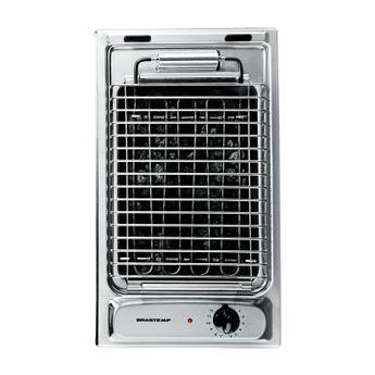Churrasqueira-Eletrica-2500W-Cooktop-Domino---Churrasqueira-Cooktop-BDH30ARBNA---Vista-Superior